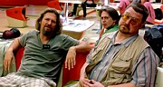John Goodman Prints - Jeff Bridges John Goodman and Steve Buscemi @ The Big Lebowski Print by Gabriel T Toro