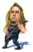 Fine Art - Jeff Hanneman by Art