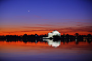 Thomas Jefferson Photo Posters - Jefferson Memorial at Dawn Poster by Metro DC Photography