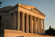 Columns Originals - Jefferson Memorial Sunset by Steve Gadomski