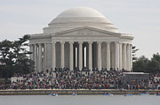 Landmarks Photo Prints - Jefferson Memorial - Washington DC - 01134 Print by DC Photographer