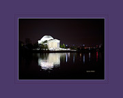 Declaration Of Independence Prints - Jefferson Memorial Washington DC Print by Jonathan E Whichard