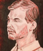 Serial Killer Drawings - Jeffrey by Jeremy Moore