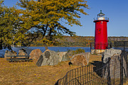 Little Red River Art - Jeffreys Hook Lighthouse II by Susan Candelario