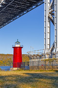 Little Red River Art - Jeffreys Hook Lighthouse IV by Susan Candelario