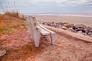 Jekyll Prints - Jekyll Island Seats Available  Print by Betsy A Cutler East Coast Barrier Islands
