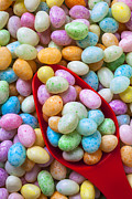 Easter Egg Prints - Jelly Beans Print by Garry Gay