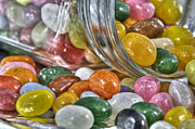 Tracy Hall Metal Prints - Jelly Beans Metal Print by Tracy  Hall