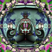 Jellyfish Bowl Print by Jim Pavelle