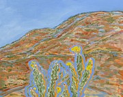Jo Anne Framed Prints - Jemez Cholla Framed Print by Jo Anne Neely Gomez