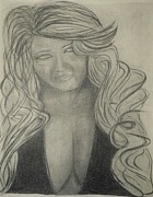 Rivera Drawings Posters - Jenni Rivera Poster by James Eye