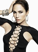 Pop Music Framed Prints - Jennifer Lopez Framed Print by Sanely Great