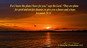 Jeremiah 29:11 Prints - Jeremiah 29 11 Print by Mark Olshefski