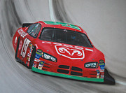 Jeremy Mixed Media Posters - Jeremy Mayfield Dodge Poster by Paul Kuras