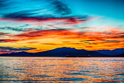 Vancouver Photos - Jericho Beach Sunset by Ian Stotesbury