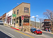 Jerome Arizona - Flatiron Cafe - 02 Print by Gregory Dyer