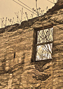 Jerome Arizona - Ruins - 01 Print by Gregory Dyer