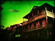 X Files Digital Art - Jerome AZ Visitor by Milton Thompson