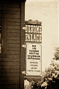 Jerome Prints - Jerome Palace - The Haunted Hamburger Print by Saija  Lehtonen