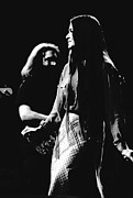 Jerry Garcia Band Prints - Jerry and Donna Godchaux 1978 Print by Ben Upham