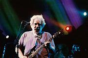 Band Photo Originals - Jerry Garcia Rainbow by Christopher  Chouinard
