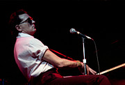 And Jerry Lee Lewis Prints - Jerry Lee Lewis 1985 Print by Nancy Clendaniel