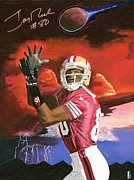49ers Originals - Jerry Rice by Jeff Gomez