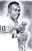 Jerry Rice Print by Jonathan Tooley