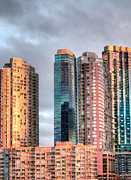Skylines Photos - Jersey City Color by JC Findley