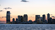 Jersey City Prints - Jersey City Skyline Print by JC Findley