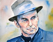 Frank Sinatra Painting Originals - Jersey Guy by Brian Degnon