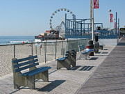All - Jersey Shore Pier 1 by Kathy Dahmen