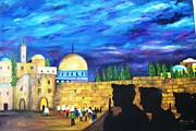 Beautiful Cities Originals - Jerusalem by Doris Cohen