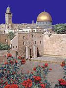 Jerusalem Print by Guido Borelli
