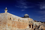 Kobby Dagan Metal Prints - Jerusalem Metal Print by Kobby Dagan