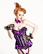Corset Photos - Jessamyn defying gravity by Gary Heller