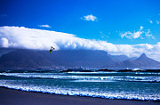 Kite Surfing Originals - Jesse - RedBull King of the Air Cape Town - Table Mountain  by Charl Bruwer