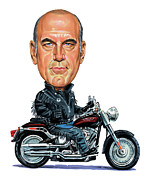 Caricature Paintings - Jesse Ventura by Art