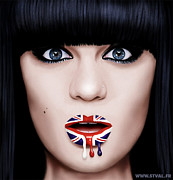 Bridge Digital Art - Jessie J by Stephanie Valentin