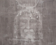 Turin Drawings Prints - Jesus Awakens Print by Riane Cook
