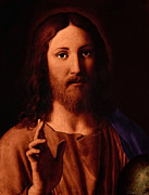 Sassoferrato Prints - Jesus Christ Print by A Samuel
