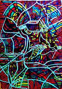 Jesus Christ - King Of Peace Print by Gloria Ssali
