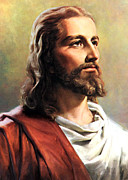 Jesus Christ Print by Munir Alawi