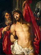 Shroud Digital Art - Jesus Christ by Peter Paul Rubens