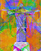 Religious Art Digital Art - Jesus Christ Superstar 20130617 by Wingsdomain Art and Photography