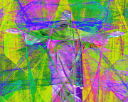 Religious Art Digital Art Prints - Jesus Christ Superstar 20130617p32 horizontal Print by Wingsdomain Art and Photography