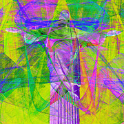Bible Digital Art Prints - Jesus Christ Superstar 20130617p32 square Print by Wingsdomain Art and Photography