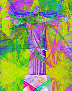 Bible Digital Art Prints - Jesus Christ Superstar 20130617p32 Print by Wingsdomain Art and Photography