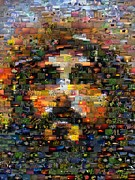 Paul Van Scott - Jesus Creation Mosaic