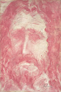 Jesus Drawings Framed Prints - Jesus Framed Print by Guy Ciarcia